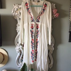 Love Stitch Embroidered Dress